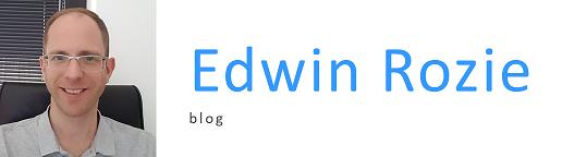 Edwin Rozie homepage Logo